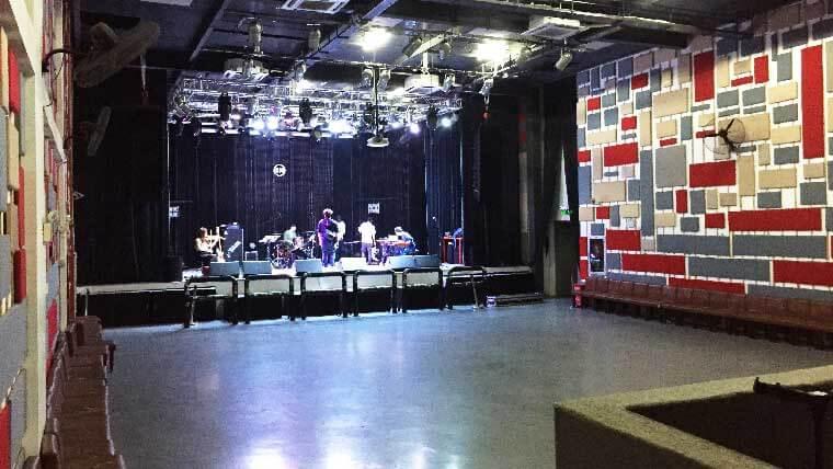 中国のライブ会場の写真